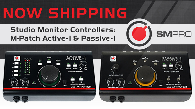 SMPro Studio Monitor Controllers